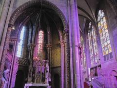 Ancienne cathédrale ou église Saint-Georges -  Alsace, Bas-Rhin, Sélestat, Église Saint-Georges (PA00084978, IA00124588): Chapelle