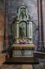Ancienne cathédrale ou église Saint-Georges -  Alsace, Bas-Rhin, Sélestat, Église Saint-Georges (PA00084978, IA00124588): Autel