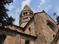 Eglise Sainte-Foy -  Alsace, Bas-Rhin, Sélestat, Église Sainte-Foy (PA00084981, IA00124586): Tour de croisée.