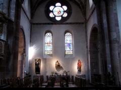 Eglise Sainte-Foy -  Alsace, Bas-Rhin, Sélestat, Église Sainte-Foy (PA00084981, IA00124586): Vue sur le bas-côté sud.