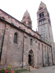 Eglise Sainte-Foy -  Alsace, Bas-Rhin, Sélestat, Église Sainte-Foy (PA00084981, IA00124586): Portail nord.