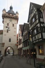 Tour dite Tour Neuve ou Tour de l'Horloge - English: Clock tower Selestat