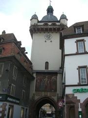 Tour dite Tour Neuve ou Tour de l'Horloge - Català: Tour de l'Horloge, Sélestat (Alsàcia, França)