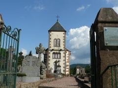 Ancienne église paroissiale, ou chapelle du cimetière - Français:   Chapelle du cimetière de Steige