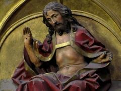 Eglise protestante Saint-Pierre-le-Jeune - Alsace, Bas-Rhin, Église protestante Saint-Pierre-le-Jeune de Strasbourg (PA00085030): Ancien chœur catholique (église simultanée). Bas-relief 1500,