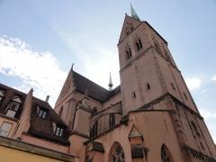 Eglise protestante Saint-Pierre-le-Jeune - Alsace, Bas-Rhin, Église protestante Saint-Pierre-le-Jeune de Strasbourg (PA00085030).