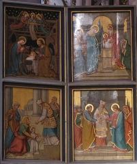 Eglise protestante Saint-Pierre-le-Vieux - Alsace, Bas-Rhin, Église Saint-Pierre-le-Vieux de Strasbourg (PA00085031). Panneau de l'autel-retable