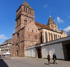 Eglise Saint-Thomas - Alsace, Bas-Rhin, Église protestante Saint-Thomas de Strasbourg, 4 rue Martin-Luther  (PA00085032).