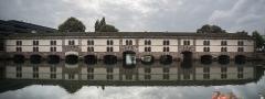 Grande écluse de fortification dite barrage Vauban et ses abords fortifiés - Español: Panorama del Barrage Vauba de Estrasburgo