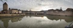 Grande écluse de fortification dite barrage Vauban et ses abords fortifiés - English: Barrage Vauban Panoramic View