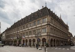 Ancien hôtel de ville dit Neue Bau, actuellement Hôtel de la Chambre de Commerce et d'Industrie de Strasbourg et du Bas-Rhin - Español: Camára de Comercio e Industria de Estrasburgo
