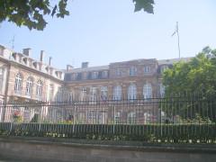 Hôtel des Deux Ponts ou Hôtel du Gouverneur militaire -  Strasbourg