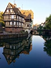 Immeuble -  Maison, 1 quai des Moulins, Strasbourg.