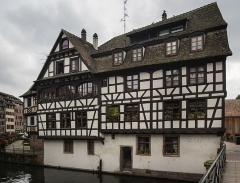 Immeuble - Français:   Maison, 1 quai des Moulins, Strasbourg