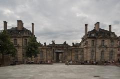 Palais des Rohan, actuellement Musée archéologique et Musée des Beaux Arts et Arts Décoratifs - English: Front of Palais Rohan, Strasbourg