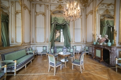Palais des Rohan, actuellement Musée archéologique et Musée des Beaux Arts et Arts Décoratifs - Español: Interior del Palacion Rohan, en Estrasburgo