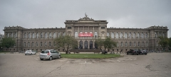 Palais Universitaire - Español: Palacio Universitario de Estrasburgo. Vista frontal.