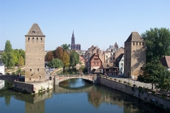 Ponts couverts -  Petite France with Cathedral