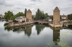 Ponts couverts - English: Ponts Couverts from Barrage Vauban