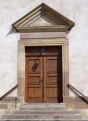 Eglise d'Offenheim -  Alsace, Bas-Rhin, Offenheim, Église Saint-Arbogast (PA00085199, IA67000977).