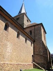 Ancienne collégiale Saint-Arbogast -  Alsace, Bas-Rhin, Surbourg, Abbatiale Saint-Jean-Baptiste (PA00085200, IA00119029).