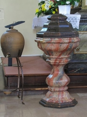 Eglise Saint-Blaise - This object is indexed in the base Palissy, database of the French furniture patrimony of the French ministry of culture,under the referenceIM67001623.
