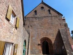 Ancien monastère d'Obersteigen -  Alsace, Bas-Rhin, Obersteigen, Chapelle Sainte-Marie de l'Assomption (PA00085213, IA67007023).