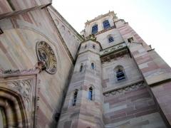 Eglise protestante Saint-Martin -  Alsace, Bas-Rhin, Westhoffen, Église protestante Saint-Martin (PA00085223, IA67006260).