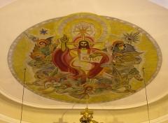 Eglise catholique Saint-Michel -  Alsace, Bas-Rhin, Weyersheim, Église Saint-Michel (PA00085235, IA00119652).
