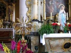 Eglise -  Alsace, Bas-Rhin, Willgottheim, Église Saint-Maurice (PA00085236, IA67001050): Lutrin.