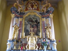 Eglise - This object is classé Monument Historique in the base Palissy, database of the French furniture patrimony of the French ministry of culture,under the referencesPM67000447 and IM67010040.