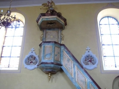 Eglise - This object is classé Monument Historique in the base Palissy, database of the French furniture patrimony of the French ministry of culture,under the referencePM67000519.