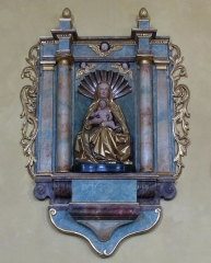 Eglise - This object is classé Monument Historique in the base Palissy, database of the French furniture patrimony of the French ministry of culture,under the referencePM67000674.