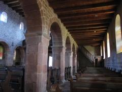 Eglise catholique Saint-Ulrich, ou église d'Altenstadt - Alsace, Bas-Rhin, Wissembourg, Église Saint-Ulrich d'Altenstadt (PA00085244, IA67008249): Bas-côté nord.