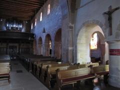 Eglise catholique Saint-Ulrich, ou église d'Altenstadt - Alsace, Bas-Rhin, Wissembourg, Église Saint-Ulrich d'Altenstadt (PA00085244, IA67008249).