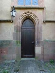 Eglise protestante Saint-Jean-l'Evangéliste - Alsace, Bas-Rhin, Wissembourg, Église protestante Saint-Jean, place Martin Bucer (PA00085246, IA67008033).