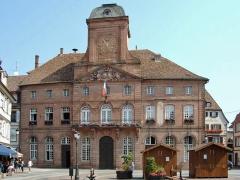 Hôtel de ville - Deutsch: Rathaus in Weißenburg, Frankreich