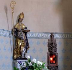 Eglise catholique Saint-Ulrich - Église Saint-Ulrich (PA00085263, IA00061853).  Statue de Saint Ulrich d'Augsbourg (XVIIIe):       This object is classé Monument Historique in the base Palissy, database of the French furniture patrimony of the French ministry of culture,under the referencesPM67000470 and IM67002024. brezhoneg| català| Deutsch| English| español| français| italiano| magyar| македонски| Plattdüütsch| português| suomi| +/−
