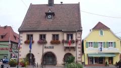 Hôtel de ville -  L'hôtel de ville de Châtenois