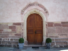 Eglise et cimetière de Balbronn -  Alsace, Bas-Rhin, Balbronn, Église protestante (PA00085276, IA67006522).