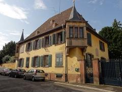 Maison dite le Châtelet -  Alsace, Bas-Rhin, Benfeld, Maison de gouverneur dite le \