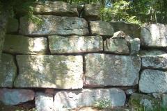 Enceinte protohistorique de la Frankenbourg -  mur païen au château du Frankenbourg