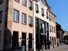 Anciennes glacières - La façade actuelle de l'hôtel Régent Petite France au 5 rue des Moulins.