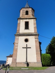 Eglise Saint-Gilles - This building is inscrit au titre des monuments historiques de la France. It is indexed in the base Mérimée, a database of architectural heritage maintained by the French Ministry of Culture,under the references PA00085301   and IA67010418 .