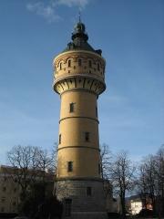 Château d'eau - Deutsch: Wasserturm von 1906/07 im Stil der Neuromanik, Ingenieur Behr.