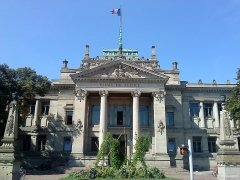 Palais de Justice - This building is indexed in the Base Mérimée, a database of architectural heritage maintained by the French Ministry of Culture,under the reference PA00085312 .