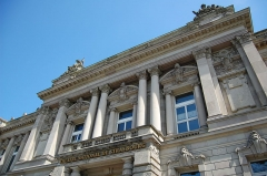 Ancien palais de la Diète d'Alsace-Lorraine, actuellement Ecole supérieure d'Art dramatique, Conservatoire de musique et Théâtre national de Strasbourg -  Theatre National de Strasbourg