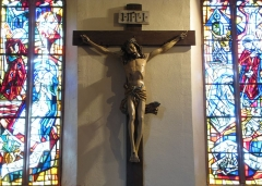 Eglise catholique Saint-Martin - Alsace, Haut-Rhin, Ammerschwihr, Église Saint-Martin (XVIe) (PA00085325, IA68000716) Christ en croix (XVe):       This object is classé Monument Historique in the base Palissy, database of the French furniture patrimony of the French ministry of culture, under the references PM68000008 and IM68007044. brezhoneg | català | Deutsch | English | español | français | italiano | magyar | македонски | Plattdüütsch | português | suomi | +/−