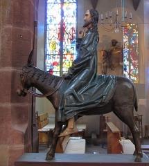Eglise catholique Saint-Martin - Alsace, Haut-Rhin, Ammerschwihr, Église Saint-Martin (XVIe) (PA00085325, IA68000716) Groupe sculpté