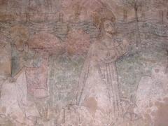 Eglise catholique de l'Assomption de la Bienheureuse Vierge Marie - Alsace, Haut-Rhin, Bergheim, Église Notre-Dame de l'Assomption (XIVe-XVIIIe) (PA00085341, IA68006093.  Fresque